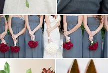 Wedding Ideas - Red / Inspiration for Red Wedding Colors