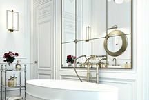 Luxe Bathrooms / glamourous spaces that provide a luxurious retreat / by Vix Dagatan