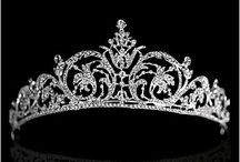 tiara, crown, diadem