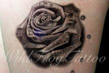 Black Tattoo Works / Black & Gray Tattoo Works