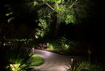 Landscape Lighting Design Ideas / All about ideas for creating a beautiful outdoor living space using effective Landscape Lighting Techniques