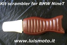 Kit scrambler for BMW R NineT by Luismoto / Kit seat + Rear fender for BMW R NineT by Luismoto . Made in Italy ! For sale www.luismoto.it    Kit trasformazione scrambler per BMW R NineT , comprende nuova sella disponibile in vari colori e parafango posteriore , in vendita su www.luismoto.it