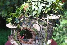 Fairy Houses & Gardens / Fairy houses and gardens that inspire me.