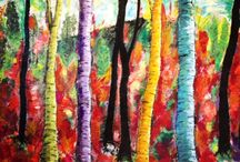 Art by Lene Andersen / Painting, gallery, acrylic