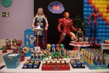 Festa Infantil - Tema Super Heróis - superheroes children's party / Festa Infantil - Tema Super Heróis - superheroes children's party - Fotos Gus Wanderley - www.guswanderley.com.br