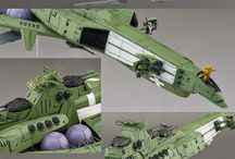 space ship ,mecha and sci fi