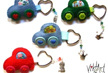 Things To Make - Magnets & Keychains / by The Littlest Thistle