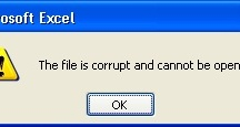 file cannot be opened