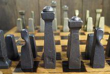 скульптуры из металла