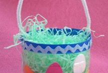 Easter crafts and foods
