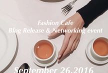 Fashion cafe party