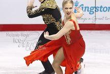 Buz Dansı Balerinler Tango