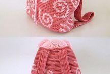 Crochet Backpacks / Back-to-School Crocheted Backpack Patterns