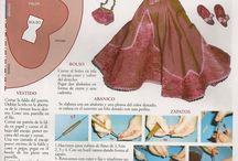 Vestidos miniaturas