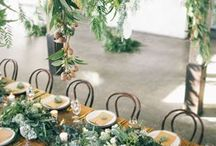 weddings table