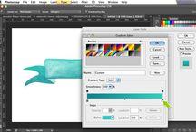 Photoshop / illustrator / InDesign tutorials