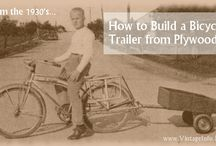 "Vintage Projects / Things to make - trailers, shelves, useful household items.  All from ""back in the day"" when you built what you needed. There wasn't a big-box store or Amazon to order what you wanted with 1 click. / by Vintage Info Network"