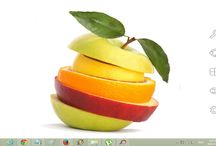 Fresh fruits / Theme For Windows 7 8 8.1