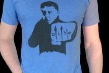 Hand printed t-shirts