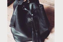 Bunt Color / Leather fannupacks, bags, rucksacks