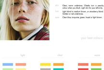 Anziehsachen / Farbschema