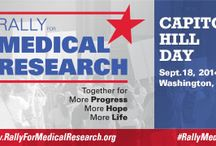 Rally for Medical Research / Join us either in Washington, D.C. or in your own home state for our Hill Day and participation in the Rally for Medical Research on Sept. 18! Raising #hydrocephalus voices!