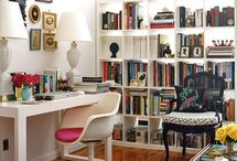 Work Spaces / Home office, spaces to create and stay organized.