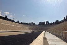 Panathinaiko Stadyumu- Atina / 1896 yılında Atina'daki ilk modern Olimpiyat Oyunları'na ev sahipliği yapan ve tarihi bir Yunan stadyumunun kalıntıları üstüne inşa edilen Panathinaiko Stadyumu, dünyanın en eski stadyumlarından birisi aynı zamanda. Tamamen beyaz mermerden inşa edilen yapı, 2004 yılında yenilenerek, Olimpiyat Oyunları sırasında okçuluk müsabakalarına da ev sahipliği yapmış.