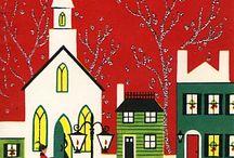Christmas/Winter Churches