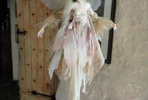 Art Dolls / #artdolls / by Bent Whims Studio ~ Caroline Jones