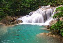 Erawan Waterfalls / Erawan National Park, Kanchanaburi,Thailand)