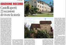 Articoli Castelli Aperti 3-4 ottobre 2015 / Articoli usciti su quotidiani e periodici locali e nazionali e sul web