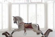 Rocking Horses / Love rocking horses, especially vintage and handmade / by Anna Sugden