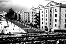 Monochrome Photographs / France Paris RER E Noisy Le Sec