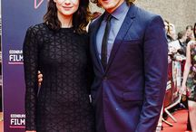 Catriona Balfe and Sam Heughan