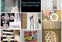 Make it: Easy Canvas Art for your Home