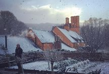 Winterscapes / Garden and landscape structure in winter