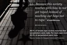 Annotated Bibliography / Bibliography on the topic of #YesAllWomen / by Sarah Healy