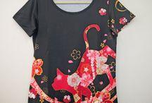 kimono Tshirt Tsubaki