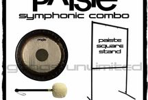 Paiste Symphonic Gong, Stand, & Mallet Combos   GONGS UNLIMITED EXCLUSIVE