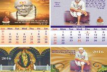 Sai Wall Calendars 2016 / Sri Sai Geeta is divine Baba Sainath's gift to mankind. Sri Sai Geeta is a spiritual masterpiece that transcends time and is always relevant.