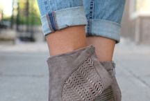 Visual Guide to Shoes and Pant Lengths / by The Budget Babe