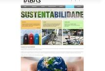 IABAS / Projeto digital desenvolvido pelo nosso Diretor de Criação no ano de 2012, quando ainda trabalha para agências. A prosposta era desenvolver alguns emails marketing e uma página Sobre sustentabilidade no portal do IABAS.
