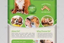 Pet flyer