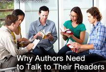 Author Platform / How-to establish your presence in public