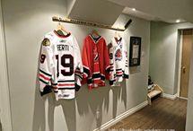 Hockey Jersey Display