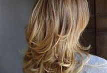 Haare gestuft