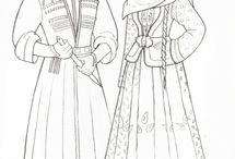 Azeri Traditional dress / A mix of traditional and modern Azeri costume and its interpretations