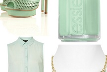 Jacqueline Kennedy: Color Story / We chose spring colors -- mainly sorbet/pastel colors and also black and white. Colors like light light salmon, sky blue, lemon zest and mint green were worn by Jackie O in the 1960s and are now re-interpreted for today's fashion.