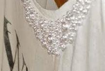 DIY Jersey con perlas